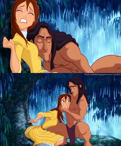 Jane and Tarzan