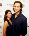 Jared &amp; Genevieve - jared-padalecki-and-genevieve-cortese photo