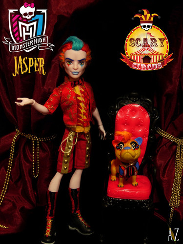 "monster high fondo de pantalla titled Jasper ""Scary Circus"""