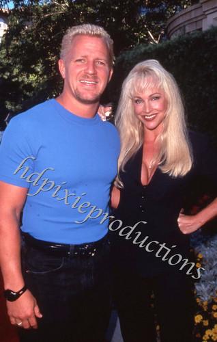Jeff Jarrett & Debra - 1999 Candid