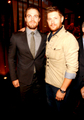 Jensen with Stephen Amell - jensen-ackles photo