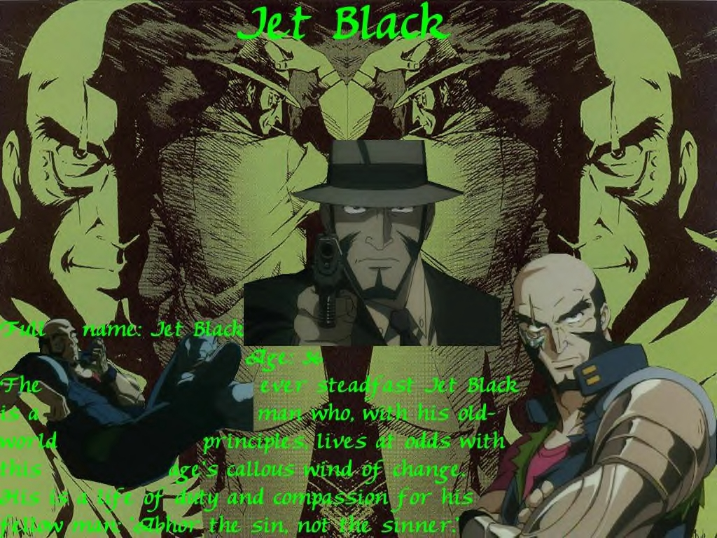 Cowboy Bebop Images Jet Black HD Wallpaper And Background Photos