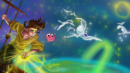 Jim Hawkins wallpaper probably containing a air mancur and anime entitled Jim