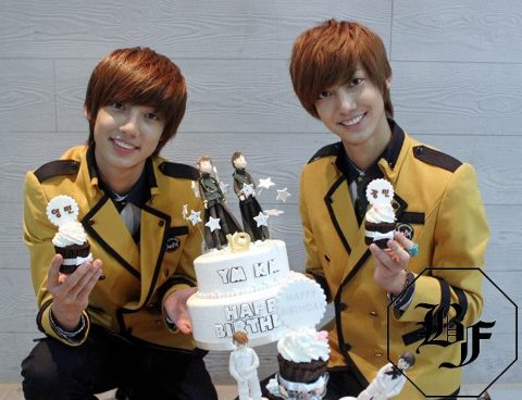 Boyfriend hình nền possibly with a bouquet entitled Jo Twins