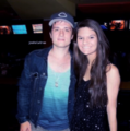Josh with a fan (5/2/2013) - josh-hutcherson photo