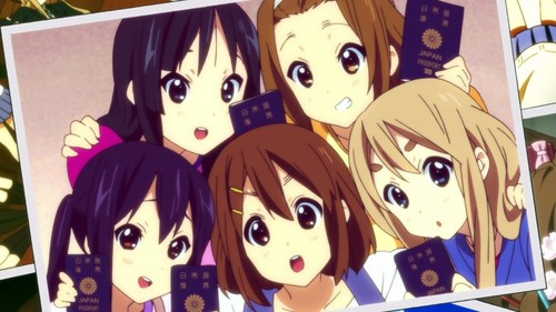 Kawaii Anime wallpaper containing anime titled K-ON! Wallpaper