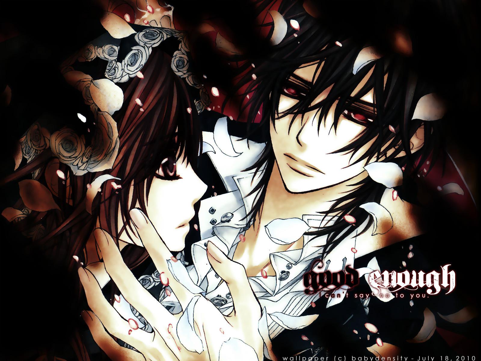 Kaname and yuuki kaname and yuuki kuran vk wallpaper - Vampire knight anime wallpaper ...