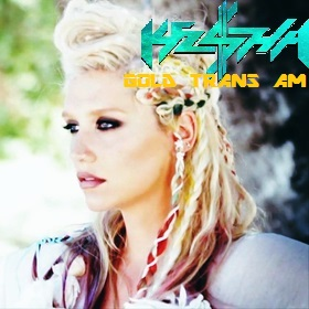 Ke$ha wallpaper containing a portrait called Ke$ha - Gold Trans Am