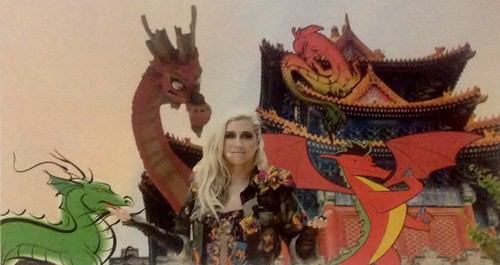 Ke$ha and the dragons