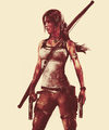 Lara Croft and Endurance's crew