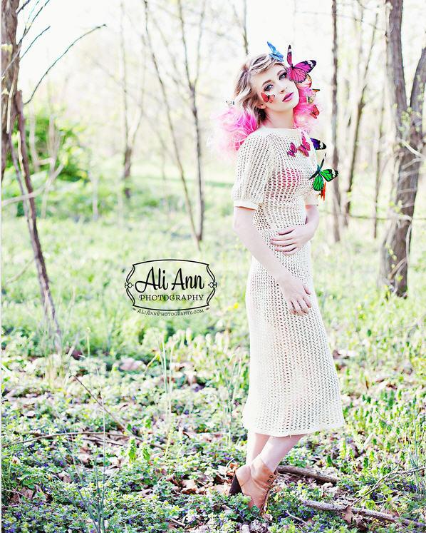 America's Next Top Model Laura Kirkpatrick for Coco magazine April
