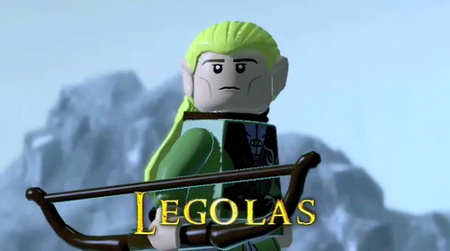 Legolas Greenleaf wallpaper entitled Legolas (Lego version)