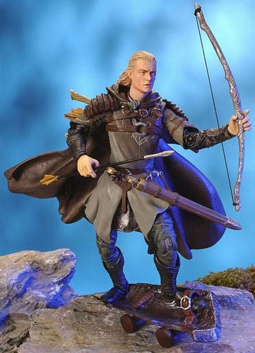 Legolas Greenleaf wallpaper probably with a rifleman, a green beret, and a navy seal entitled Legolas - action figure