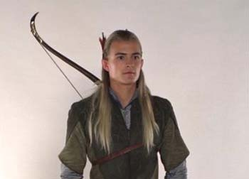 Legolas Greenleaf wallpaper possibly with a surcoat and a tabard called Legolas - costume scene
