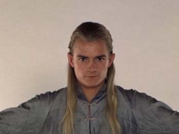Legolas Greenleaf wallpaper possibly containing a portrait titled Legolas - costume scene