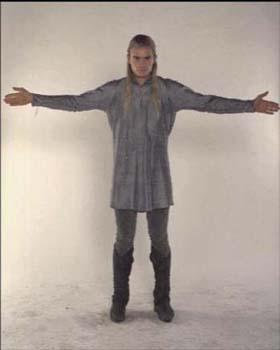 Legolas - costume scene