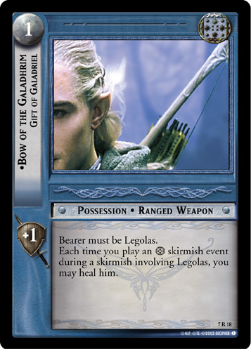 Legolas in Card Game