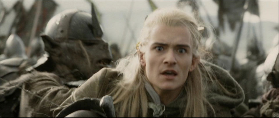 Legolas in RotK