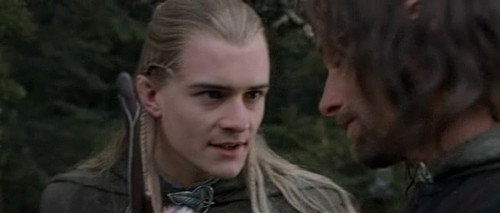 Legolas in The Fellowship of the Ring