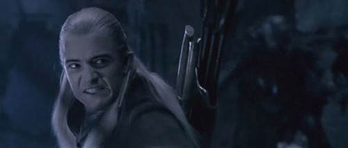 Legolas in The Fellowship of the Rings