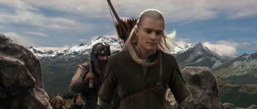 Legolas in The Followship of the Ring