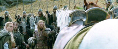 Legolas in The Two Towers