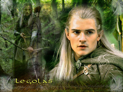 Legolas Greenleaf kertas dinding possibly with a mahogany, a beech, and a hemlock titled Legolas kertas dinding