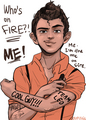 Leo Valdez - the-heroes-of-olympus fan art