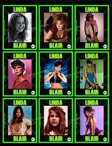 Linda Blair Playing Cards