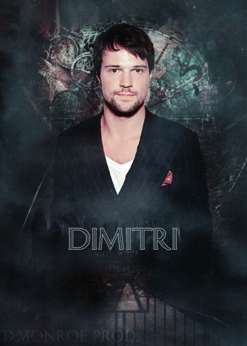 The Vampire Academy Blood Sisters वॉलपेपर probably containing a sign and ऐनीमे entitled Dimitri Belikov