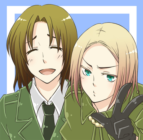 hetalia fondo de pantalla possibly containing anime called Lithuania & Poland
