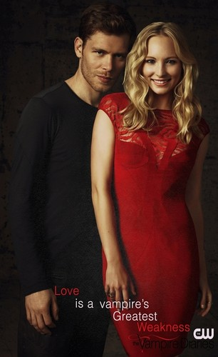Любовь is a vampire's Greatest Weakness- Klaus & Caroline in The Vampire Diaries