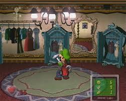 Luigi Peeks...