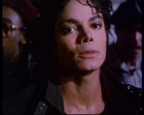 MJ (From the bad video)