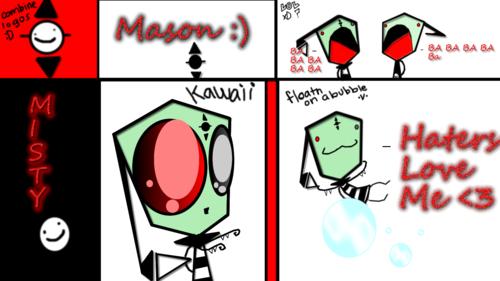 Mason And Misty Doodle :3 <3