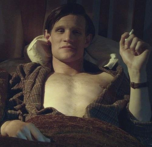 Matt Smith 壁纸 probably with a neonate entitled Matt 'Sexy' Smith