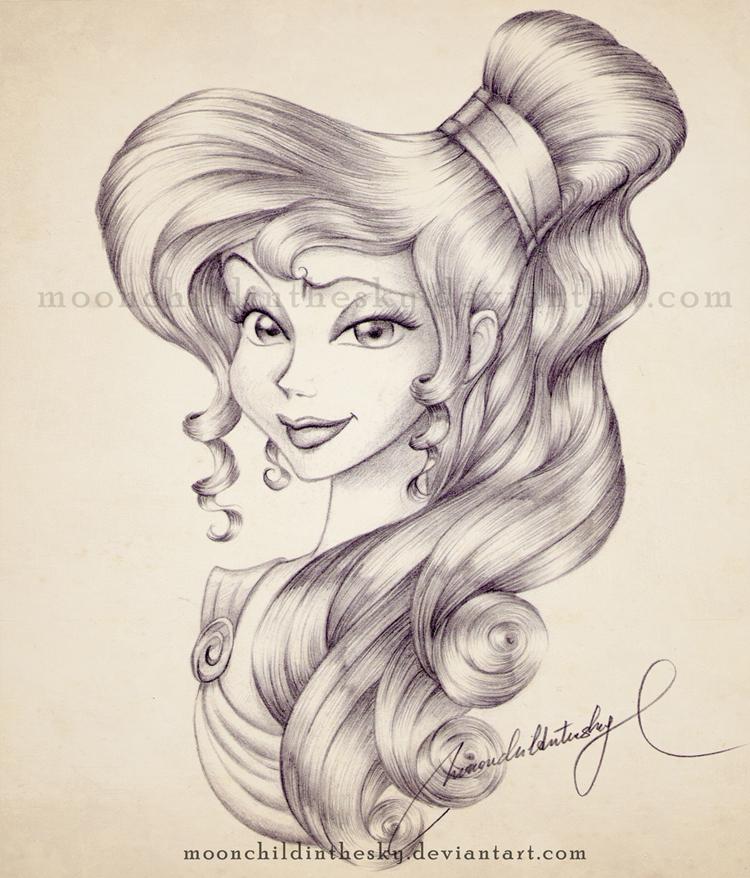 Meg Hercules Fan Art 34370681 Fanpop