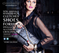 Melrose Bickerstaff as the face of  &quot;Ciaobella handbags&quot;  2013 - americas-next-top-model photo