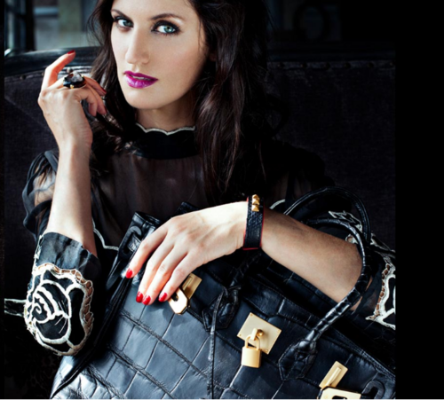 "Melrose Bickerstaff as the face of ""Ciaobella handbags"" 2013"