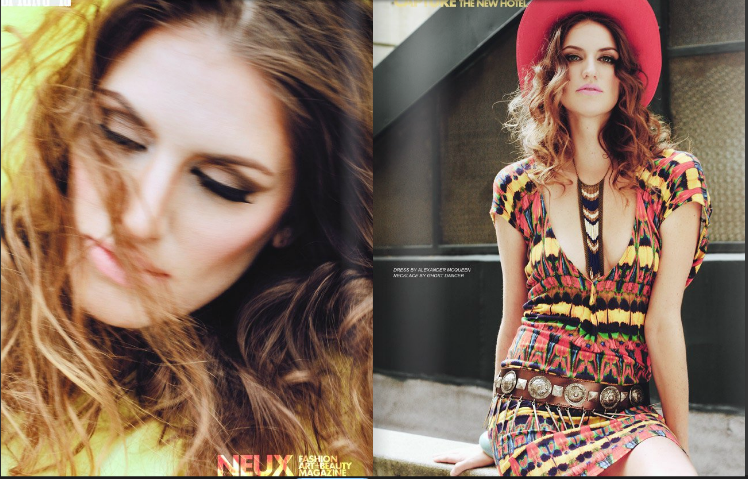 America's Next Top Model Melrose Bickerstaff for Neux Magazine spring ...