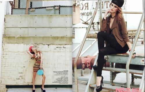 Melrose Bickerstaff for Neux Magazine spring 2013