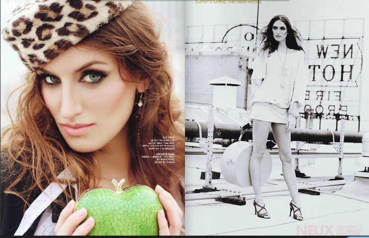America's Next Top Model Melrose Bickerstaff for Neux Magazine spring