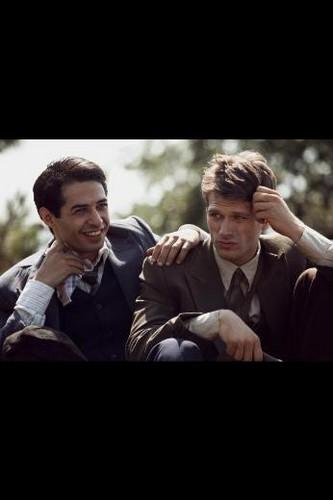 Mer Firat and Kivanc Tatlitug in the movie Kelebeğin Rüyası (Dream of a Butterfly)
