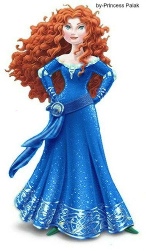 Merida's dark blue new look special