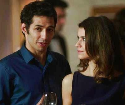 Mert Firat and Beren Saat in the tv series İntikam (Revenge)