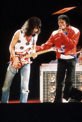 Michael And Eddie фургон, ван Halen Perfoming Together