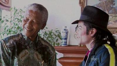 Michael And Nelson Mandela