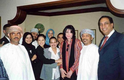 Michael In Oman