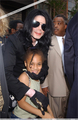 Michael With A Young Fan - michael-jackson photo