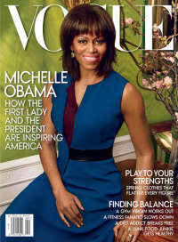 "Michelle On The Cover Of ""VOGUE"" Magazine"